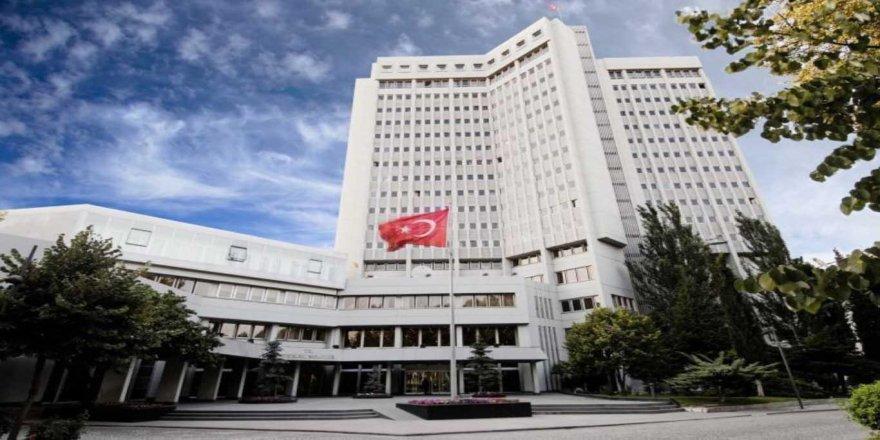 Dışişleri'nden Yunan Savunma Bakanına sert tepki