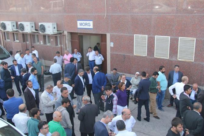 AK Partili başkanın cenazesi köyüne gönderildi