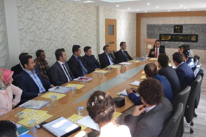 Sason'da eğitim sistemi geliştirme toplantısı gerçekleştirildi