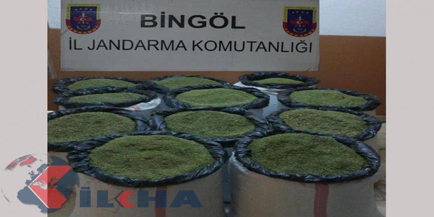 Bingöl'de 2 milyon değerinde uyuşturucu ele geçirildi
