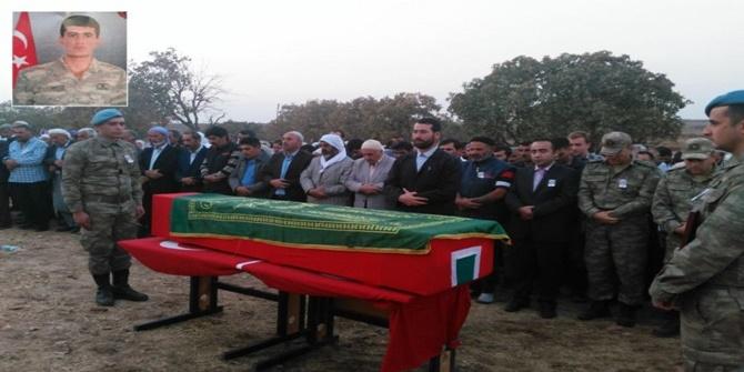 Yıldırım düşmesi sonucu hayatını kaybeden asker toprağa verildi