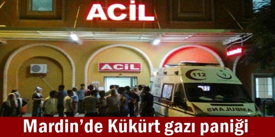 Mardin'de kükürt gazı paniği