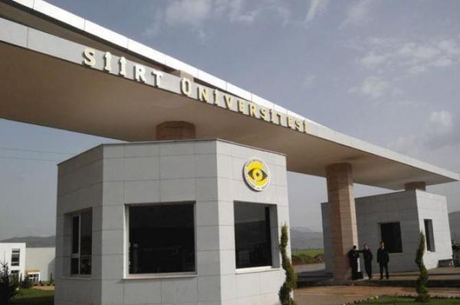 Siirt'te açığa alınan 16 akademik personel görevine iade edildi