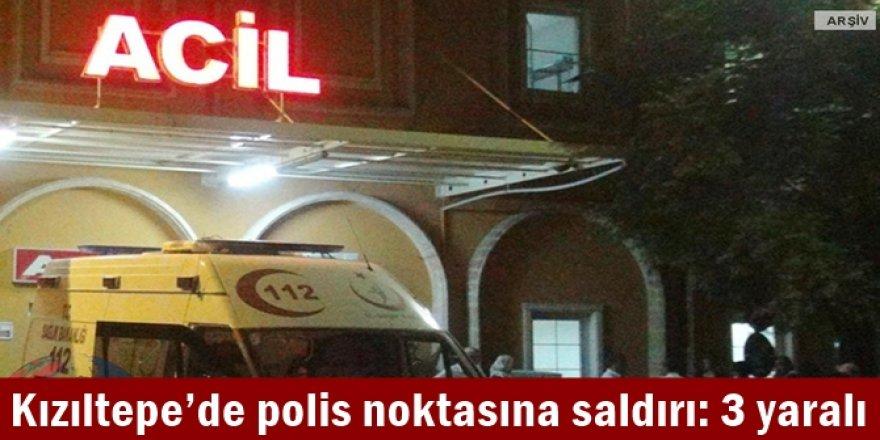 Kızıltepe'de polis noktasına saldırı: 3 yaralı