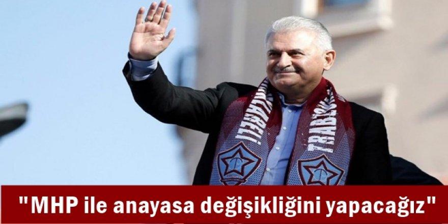 MHP ile anayasa değişikliğini yapacağız