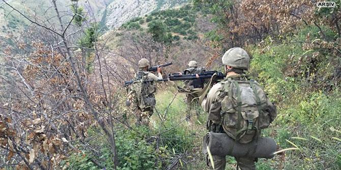 Erzurum Karayazı'da 2 PKK'li öldürüldü