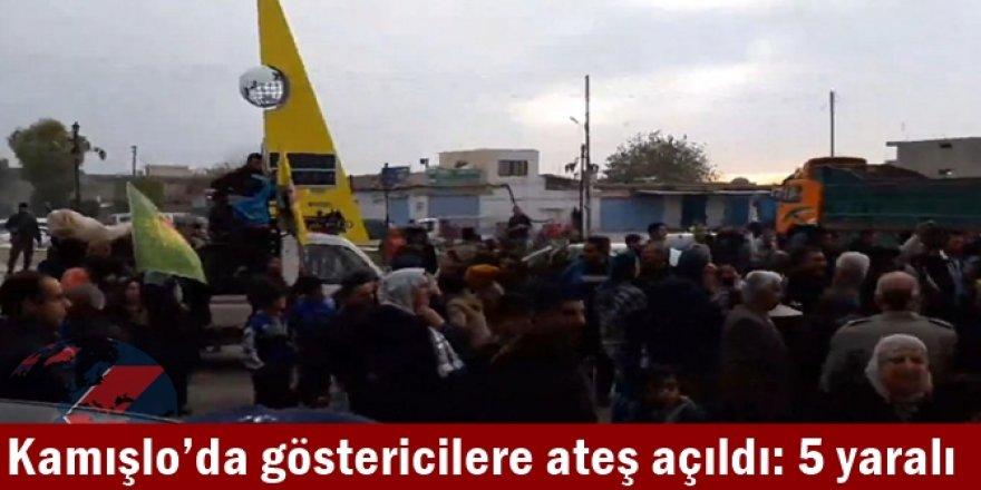 Kamışlo'da göstericilere ateş açıldı: 5 yaralı