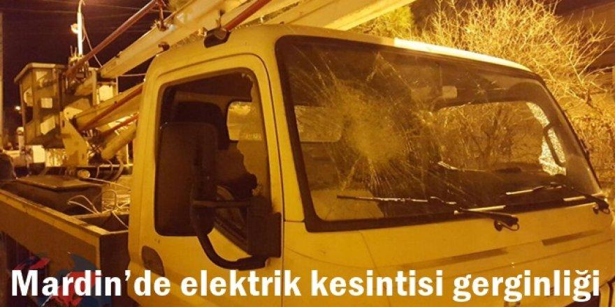 Mardin'de elektrik kesintisi gerginliği