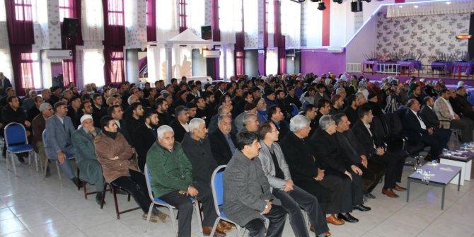 """Ergani'de """"Manevi Değerleriyle Diyarbakır"""" konferansı"""