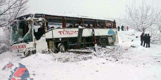 Valilikten otobüs kazasına ilişkin açıklama