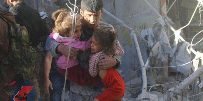Suriye'de hava saldırısında 6 çocuk öldü