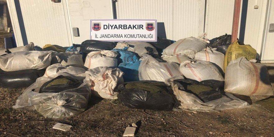 Lice'de PKK operasyonunda 1 ton esrar ele geçirildi