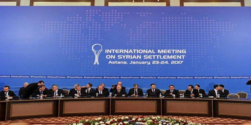 Astana'da 'Üçlü mekanizma' uzlaşması
