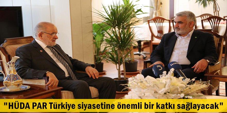 """""""HÜDA PAR Türkiye siyasetine önemli bir katkı sağlayacak"""""""