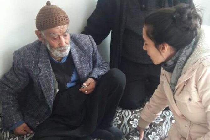 Görüntüleri sosyal medyada yayılan yaşlı adam huzur evine alındı