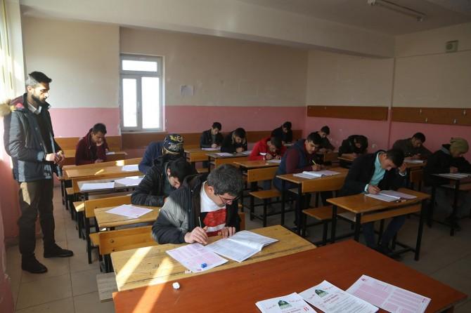Silopi'de Siyer Sınavı heyecanı
