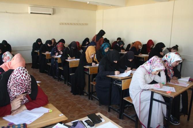Mersin'de Siyer Sınavı heyecanı