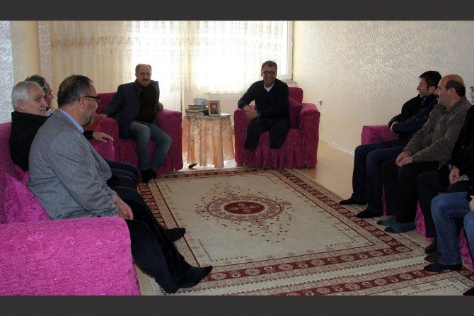 PKK saldırısında yaralanan belediye çalışanına ahde vefa ziyareti