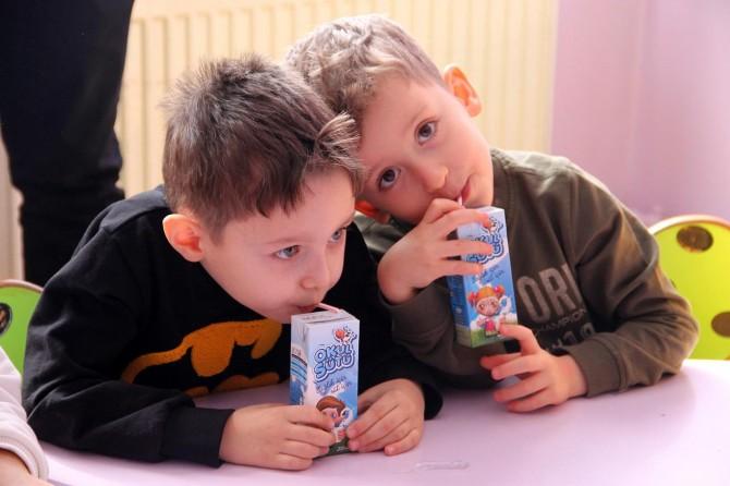 Van'daki okullarda 6 milyon paket süt dağıtılacak