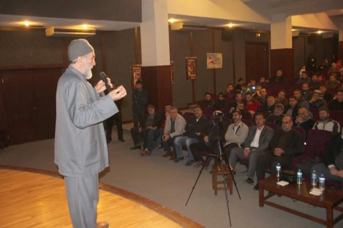 İskenderun'da Şehadet Gecesi etkinliği düzenlendi