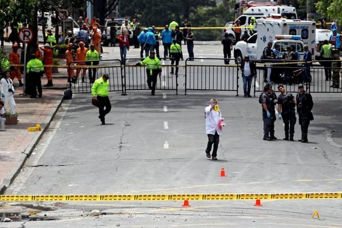 Kolombiya'da patlama: Bir ölü, 24 yaralı