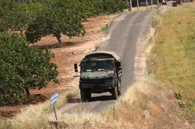 Karkamış sınırında 12'nci kez 'Özel Güvenlik Bölgesi' uygulaması
