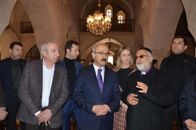 Kalkınma Bakanı Elvan'ın Mardin ziyaretleri
