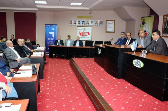 """Gaziantep'te """"İstihdam Seferberliği"""" toplantısı yapıldı"""