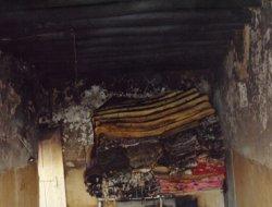 Sağır ve Dilsiz Kadının Evinde Yangın