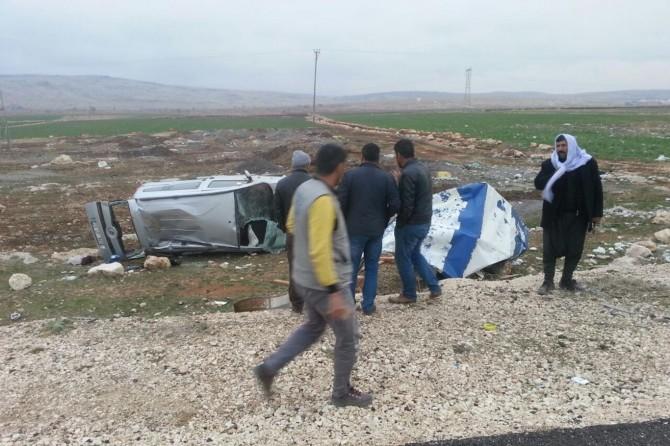 Diyarbakır Ergani'de trafik kazası: 2 yaralı