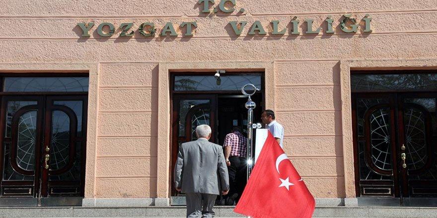 Yozgat'ta 2 vali yardımcısı görevden uzaklaştırıldı