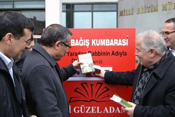 Bursa'da yedi güzel adam isimli kütüphane oluşturulacak