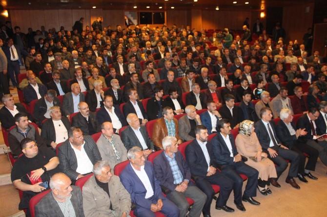 Adıyaman Kahta'da darbeci anayasadan sivil anayasaya konferansı