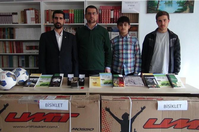 Konya'da Siyer Sınavı'nda dereceye girenlere ödüller verildi