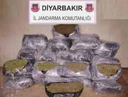 Diyarbakır'da Çok Miktarda Uyuşturucu Ele Geçirildi