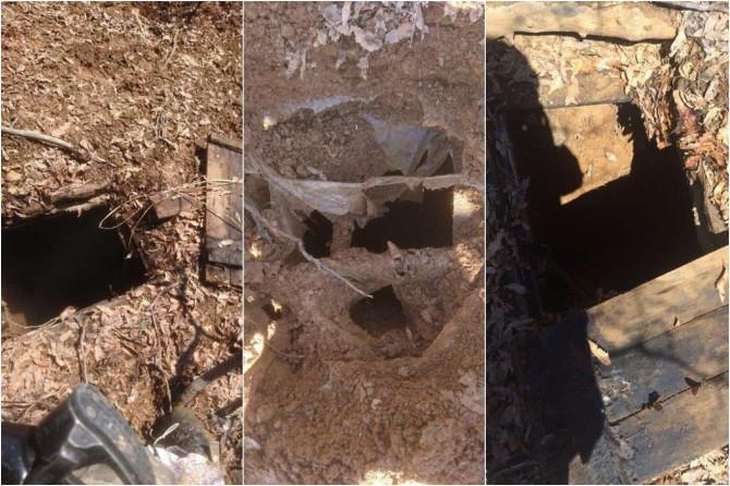 Bingöl'de PKK'ye ait 8 sığınak tespit edildi