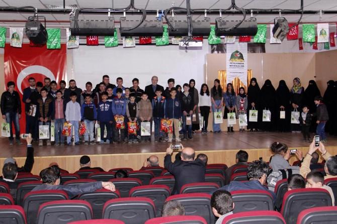 Van'daki Siyer Sınavı'nda dereceye girenler ödüllerine kavuştu