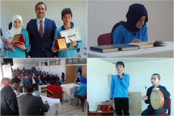 Gümüşhane'de Kur'an-ı Kerim ve ezan okuma yarışması düzenlendi