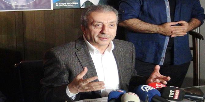 """Çınar'da konuşan Eker: """"Çift başlılığı kaldırmamız lazım"""""""