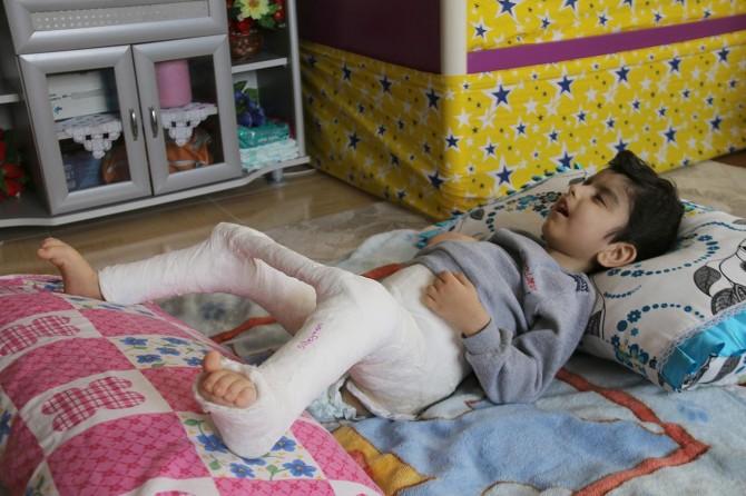 Engelli çocuğa hastanede insanlık dışı muamele iddiası