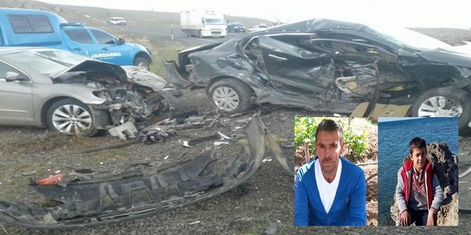 Çınar-Viranşehir Karayolunda kaza: 2 ölü 4 yaralı