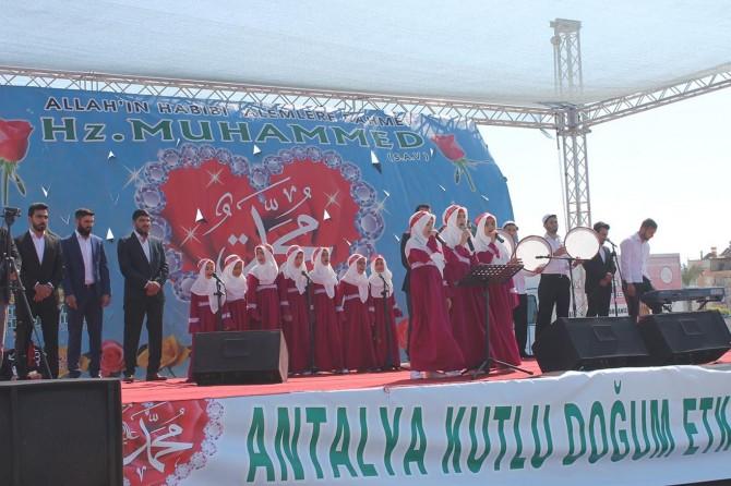 2017 Antalya kutlu doğum etkinliği video foto