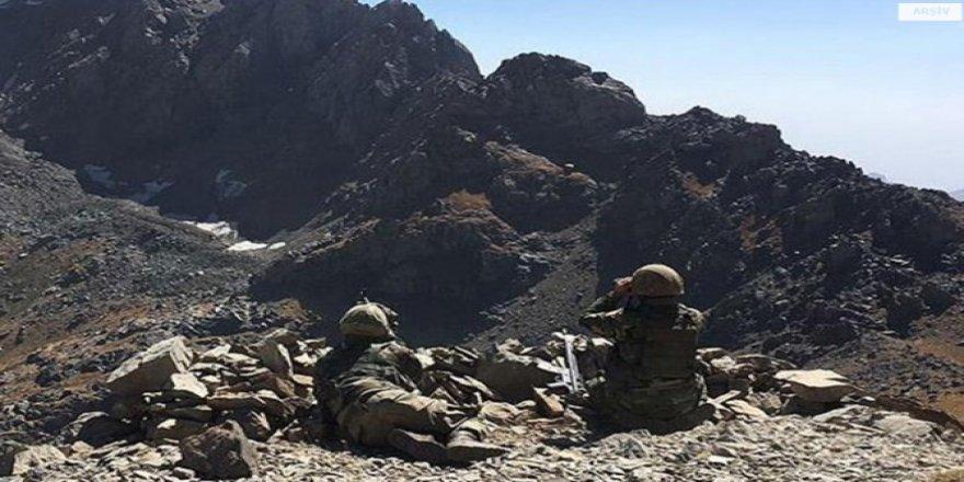 Şırnak Uludere Bestler-Dereler bölgesinde çatışma: 1 asker hayatını kaybetti