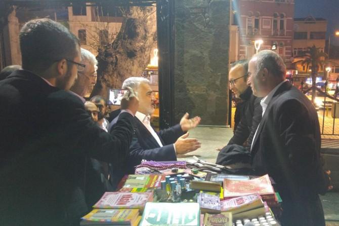 Trabzonlulardan HÜDA PAR Genel Başkanı Yapıcıoğlu'na sıcak ilgi