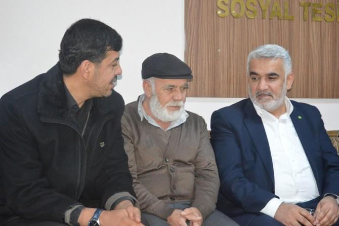 Yapıcıoğlu Kilis İl Başkanının vefat eden babasının taziyesine katıldı