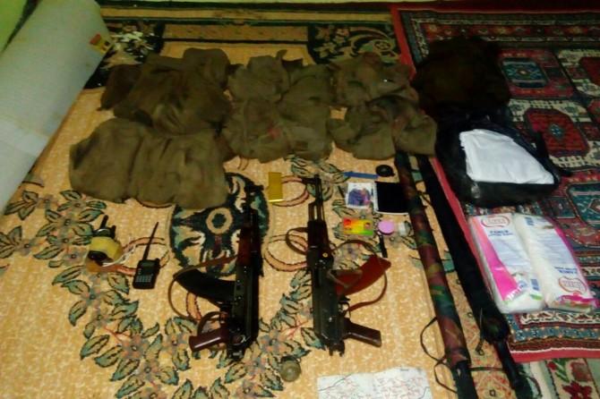 Diyarbakır Silvan'da silah ve mühimmat ele geçirildi