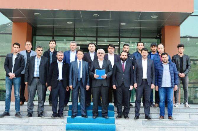 Bitlisli STK'lar Cem Küçük hakkında suç duyurusunda bulundu