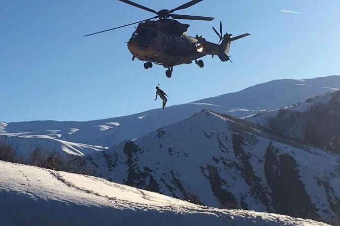 Bitlis'te Sehi ormanları bölgesinde 1 PKK'li öldürüldü