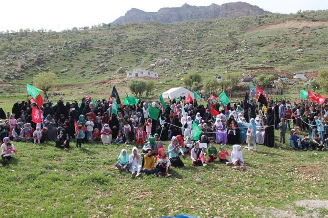 Kızılsu köyünde Kutlu Doğum etkinliği