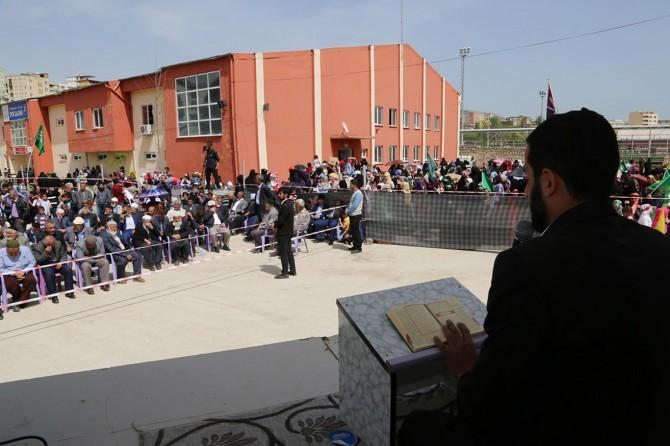 2017 Diyarbakır Silvan kutlu doğum etkinliği video foto
